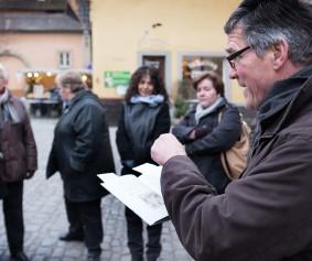 Peter Kornell als Gästeführer