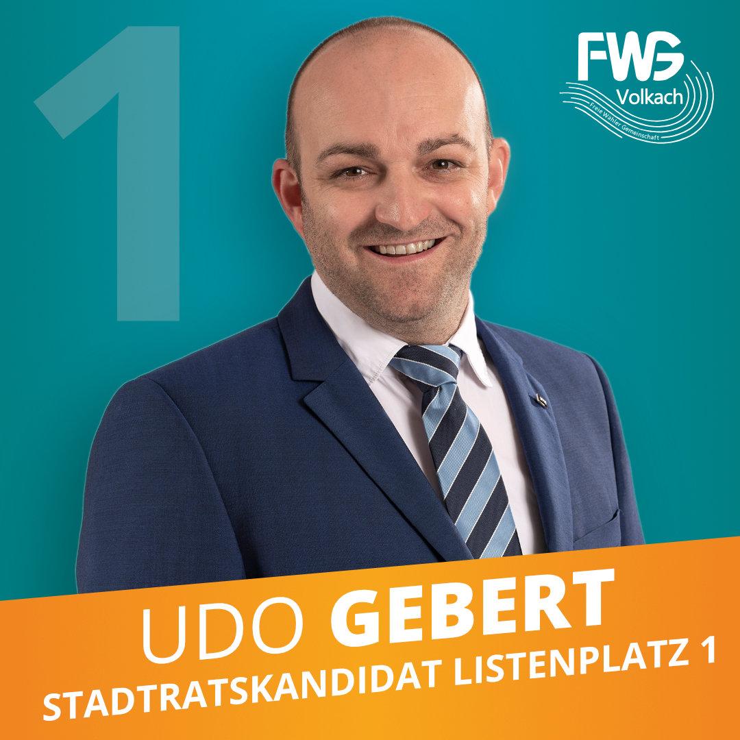 Listenplatz #1: Udo Gebert