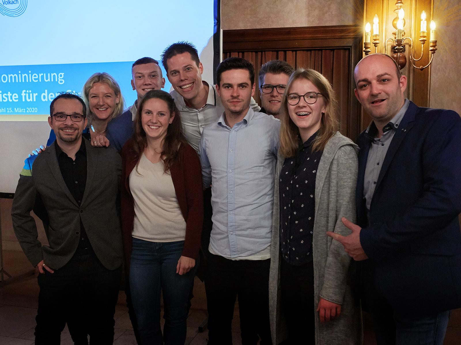 9 von 20 Kandidaten der FWG sind unter 40